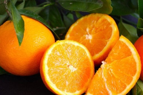 Les bienfaits de l'orange pour traiter les varices.