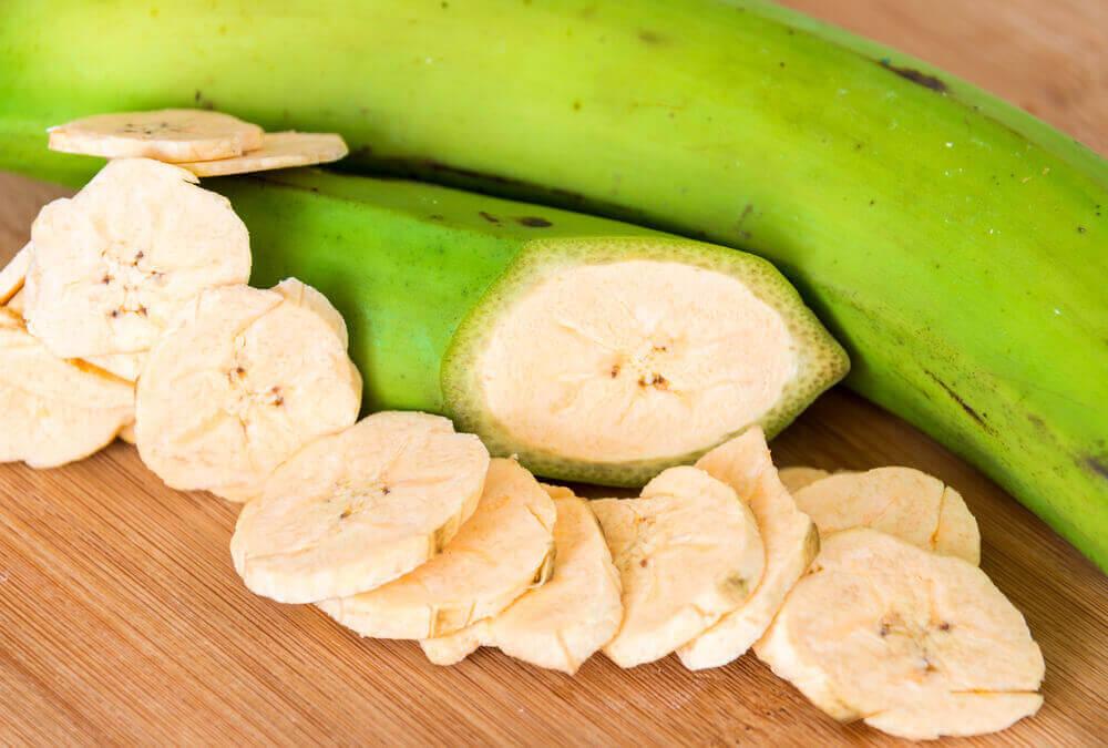 la banane verte permet une meilleure combustion des graisses