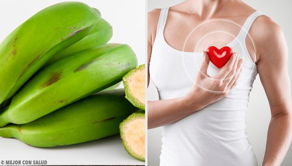 6 bienfaits de la banane verte que vous ne connaissiez pas