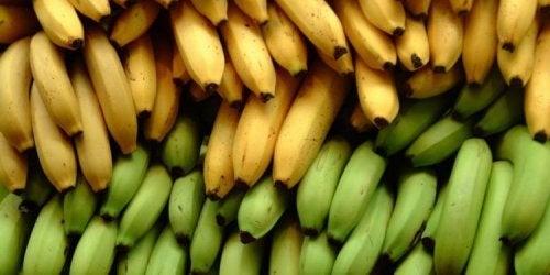 3 différences nutritionnelles entre la banane et la banane plantain
