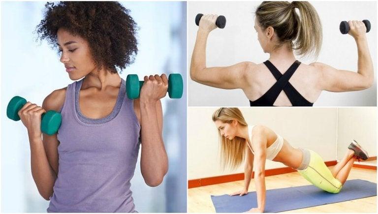 5 exercices pour renforcer les bras sans aller à la salle de sport