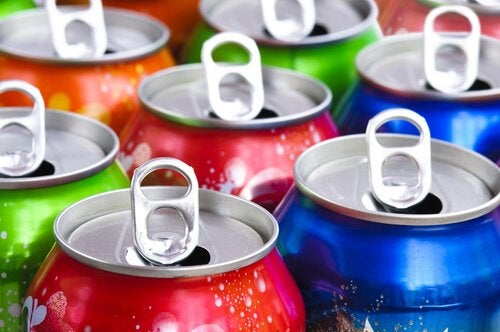 Canettes de sodas