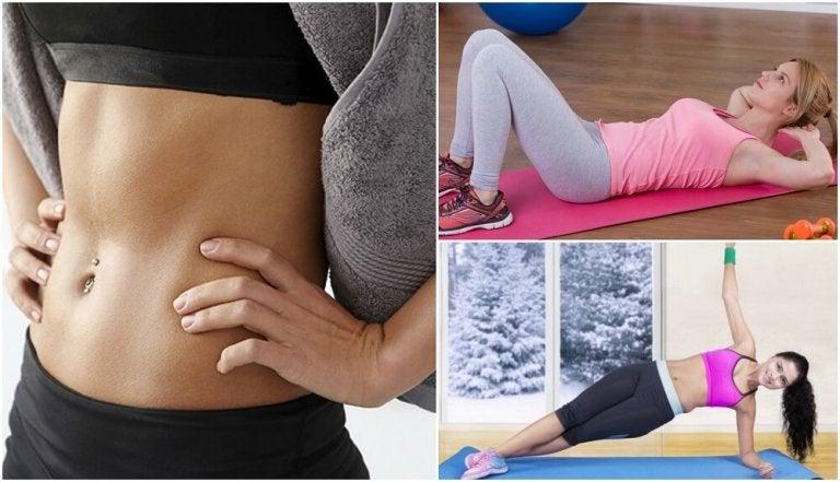 Comment travailler la zone abdominale avec 6 exercices de base