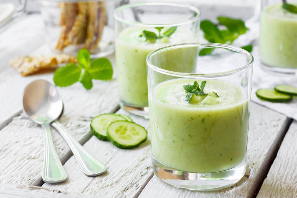 je jus de concombre contient des fibres diététiques