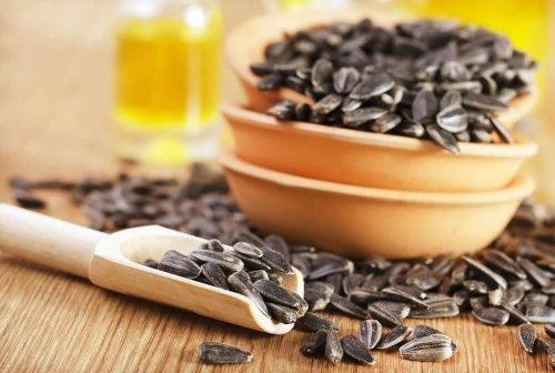 graines de tournesol pour vous aider à arrêter de fumer