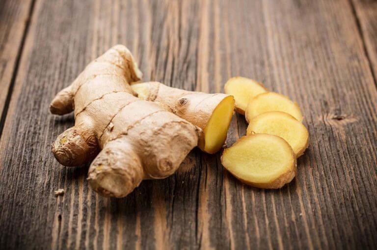 cuisiner les légumes avec du gingembre