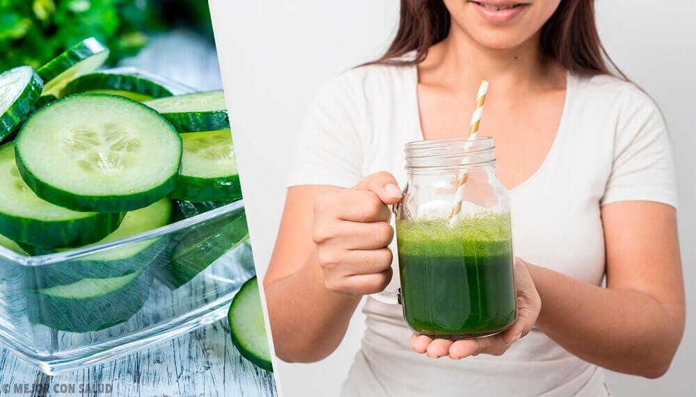 9 avantages du jus de concombre