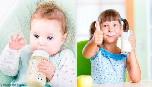 Quel est le meilleur lait pour les enfants ?