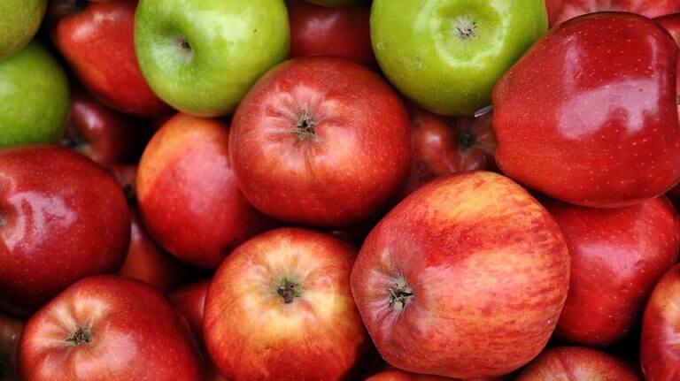 les pommes : Remèdes naturels contre l'hypertension