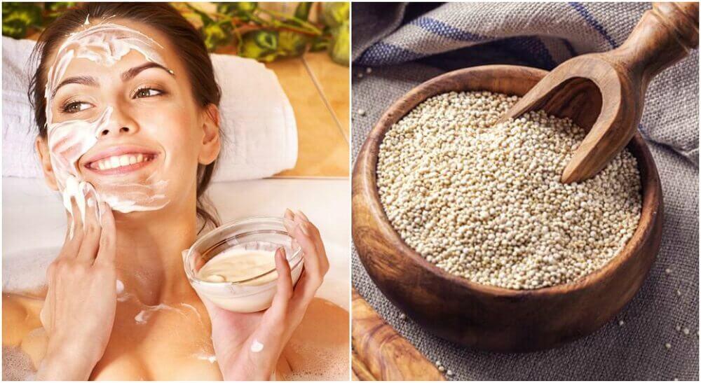 Découvrez pourquoi et comment vous laver le visage avec du quinoa