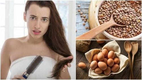 Combattre la perte de cheveux en consommant ces 7 aliments