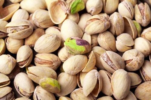 Les pistaches sont des aliments diurétiques.