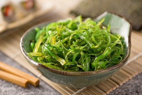 Les aliments sains : les algues.