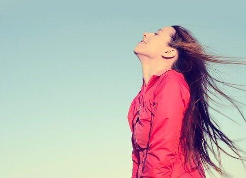 respirer l'air libre