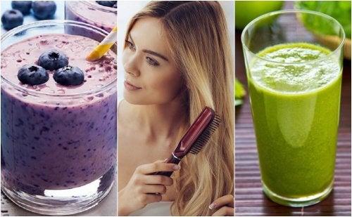 5 smoothies pour nourrir et renforcer vos cheveux
