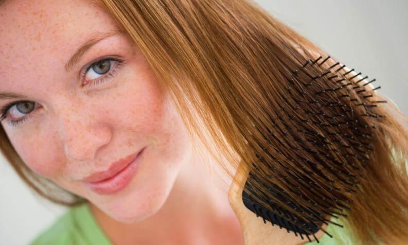 ne pas tirer les cheveux pour ne pas avoir mal au cuir chevelu