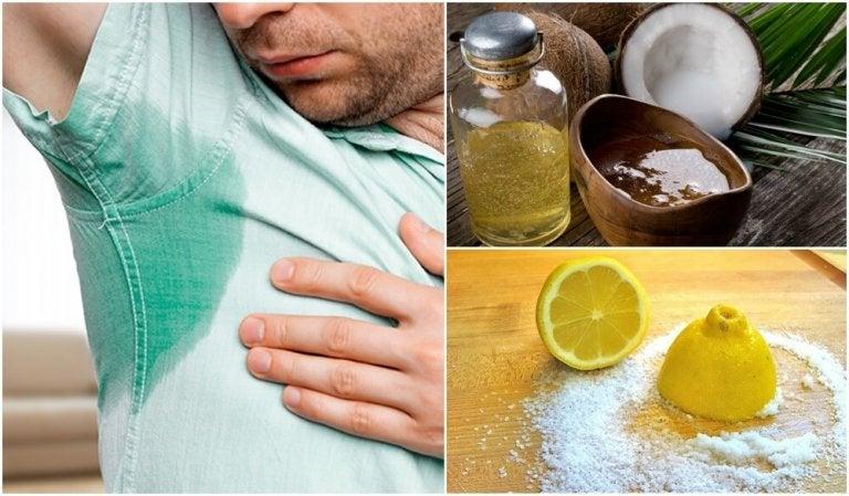 Comment traiter la transpiration excessive avec 5 remèdes naturels
