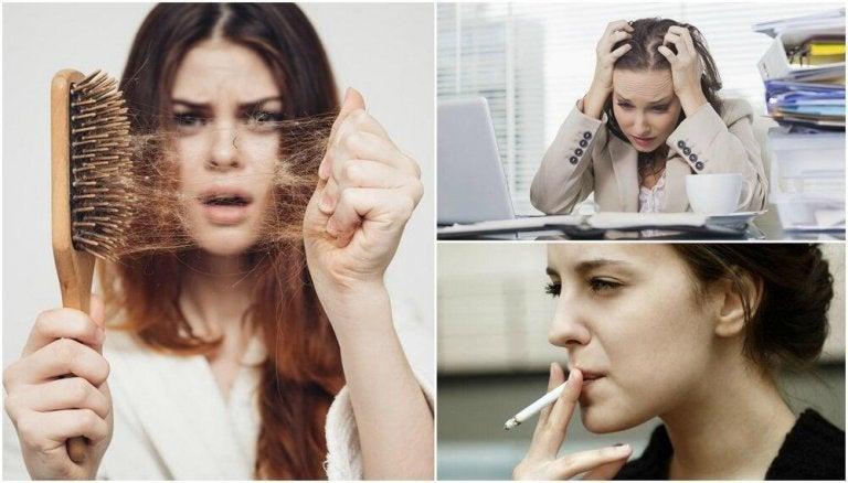 10 raisons qui expliquent la perte de cheveux