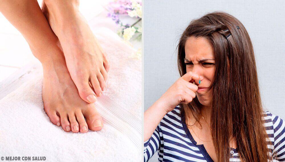 11 façons de se débarrasser des mauvaises odeurs des pieds