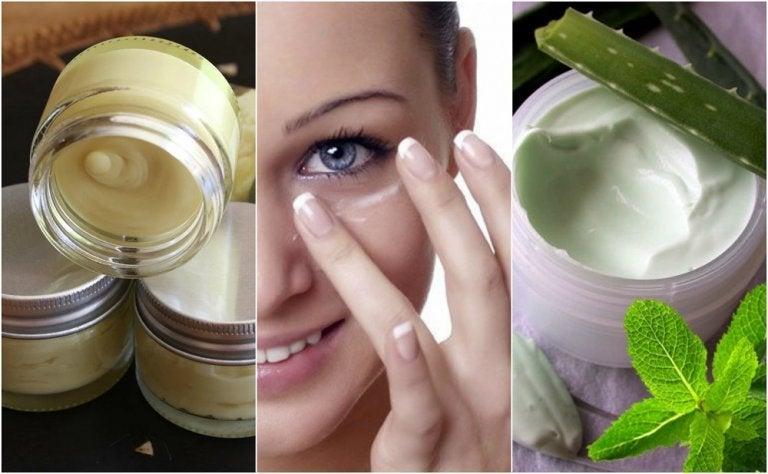 5 crèmes naturelles pour un beau contour des yeux
