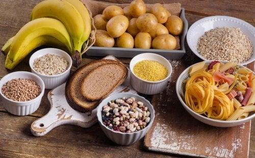 Les 8 aliments riches en glucides