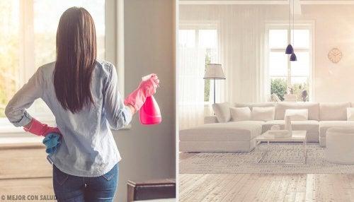 Conseils pour que votre maison sente toujours bon et purifier l'air