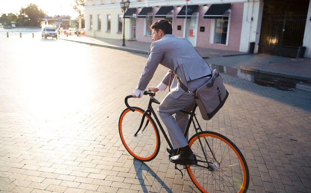 Saviez-vous que vous pouviez réduire votre stress en allant au travail à vélo ?