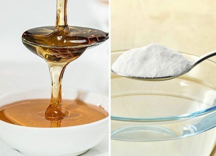 Découvrez les bénéfices du bicarbonate mélangé au miel