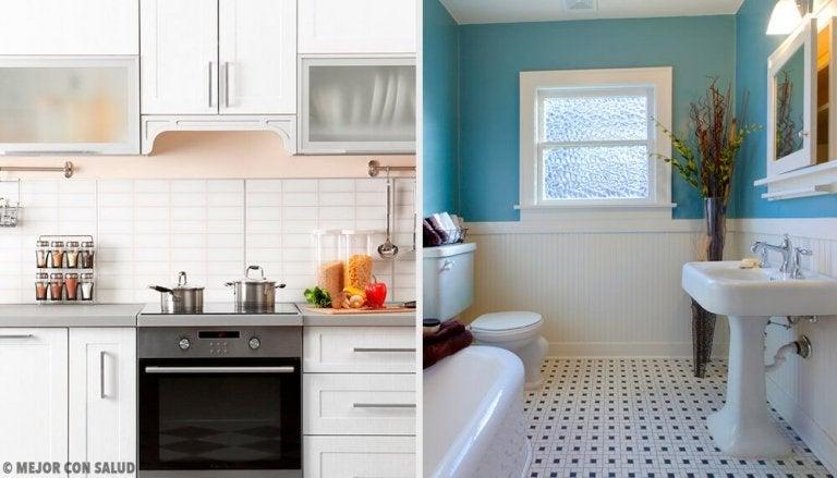 Remèdes maison pour une bonne odeur dans la cuisine et la salle de bain