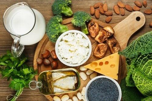 changements alimentaires à 40 ans : consommer plus de calcium