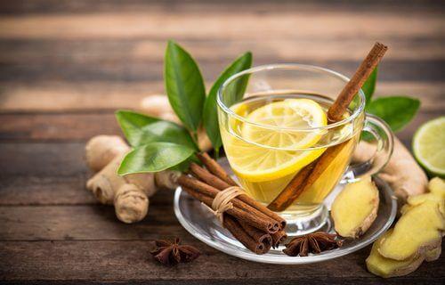 cannelle, gingembre et citron