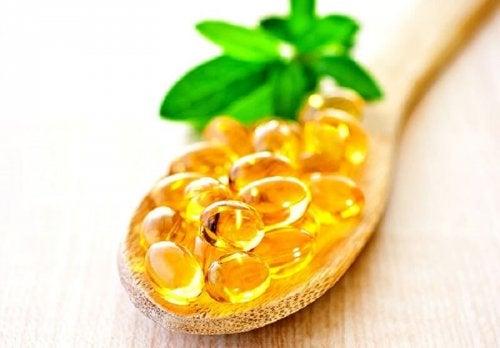 capsules de vitamine c