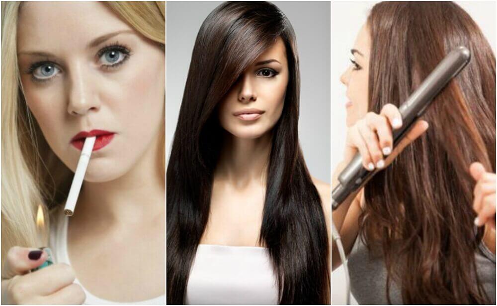 8 mauvaises habitudes qui affectent la santé de vos cheveux