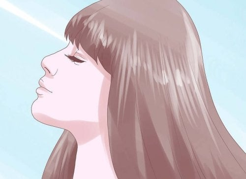 Stress contre la chute des cheveux.