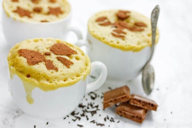 Des gâteaux au micro-ondes : simples et rapides