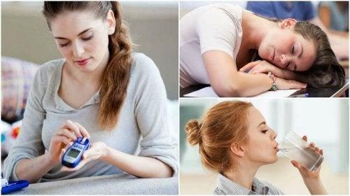 Découvrez les 8 premiers symptômes du diabète
