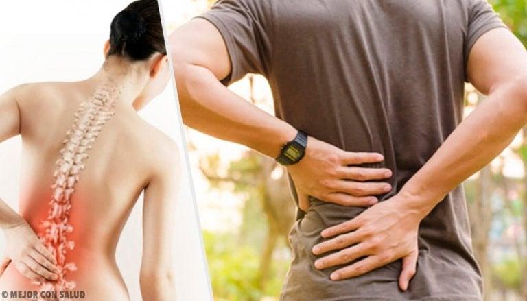 6 problèmes de santé qui causent des maux de dos