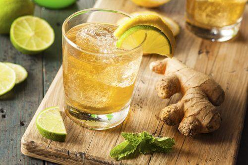eau de gingembre
