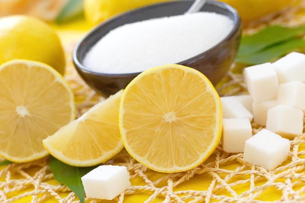 gommage au citron