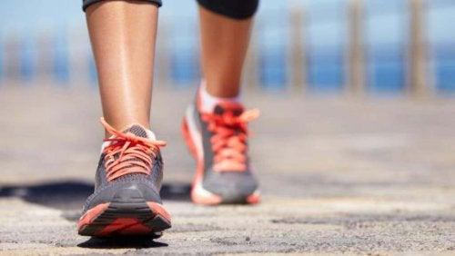 marcher pour avoir une vie plus saine