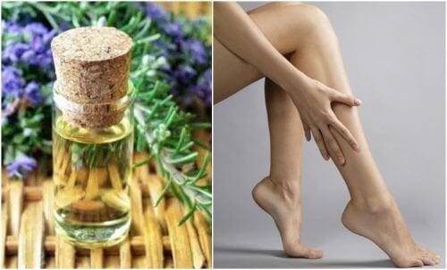 Une huile raffermissante pour les jambes