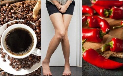5 aliments que vous devriez éviter si vous souffrez d'hyperactivité vésicale