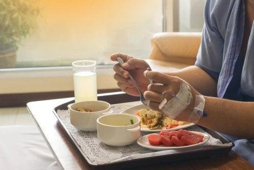 quantité et fréquence des repas en cas d'hypotension