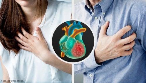 Les infarctus féminins et masculins sont-ils différents ?