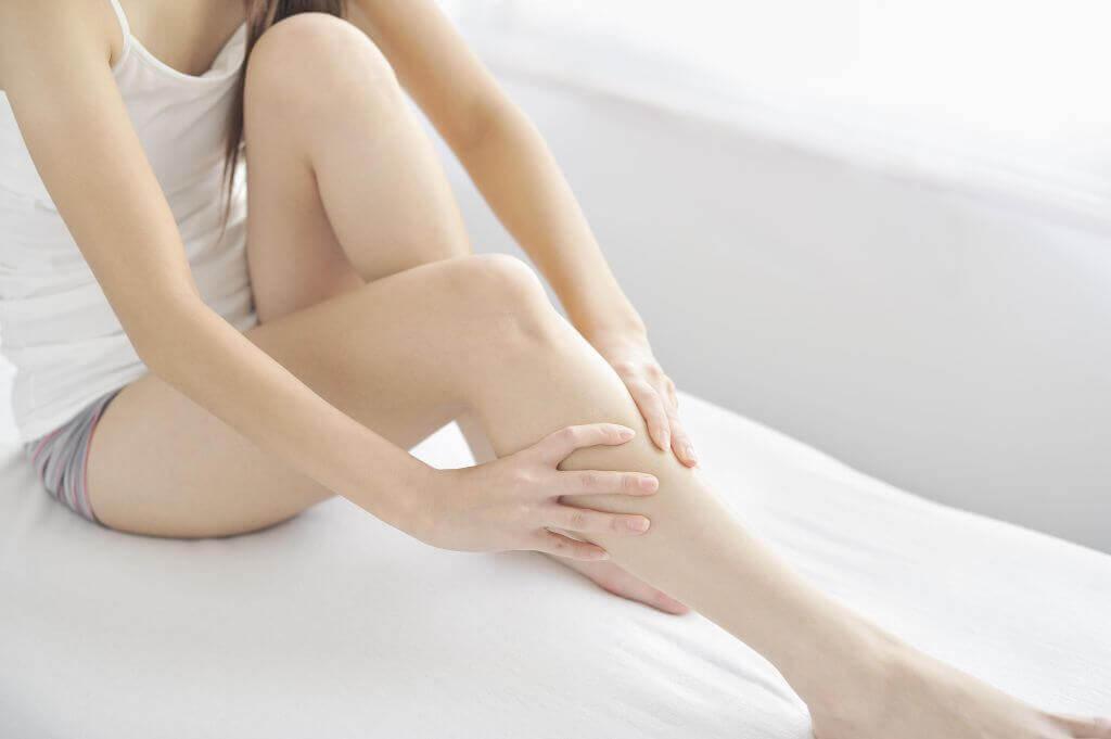 massages pour les jambes lourdes