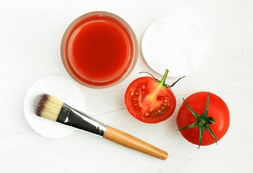 masque gros sel tomate