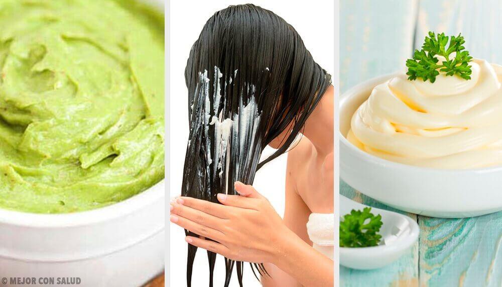 5 masques pour des cheveux brillants et soyeux