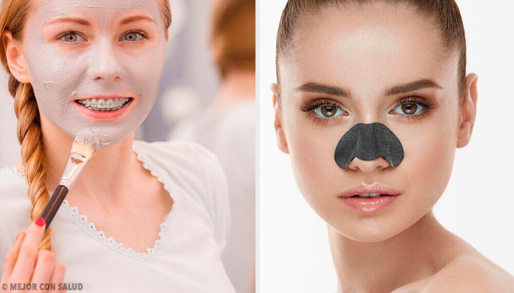 Masques pour éliminer les points noirs