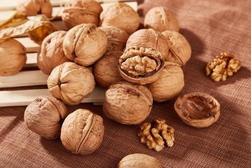 Informations sur la consommation de noix.