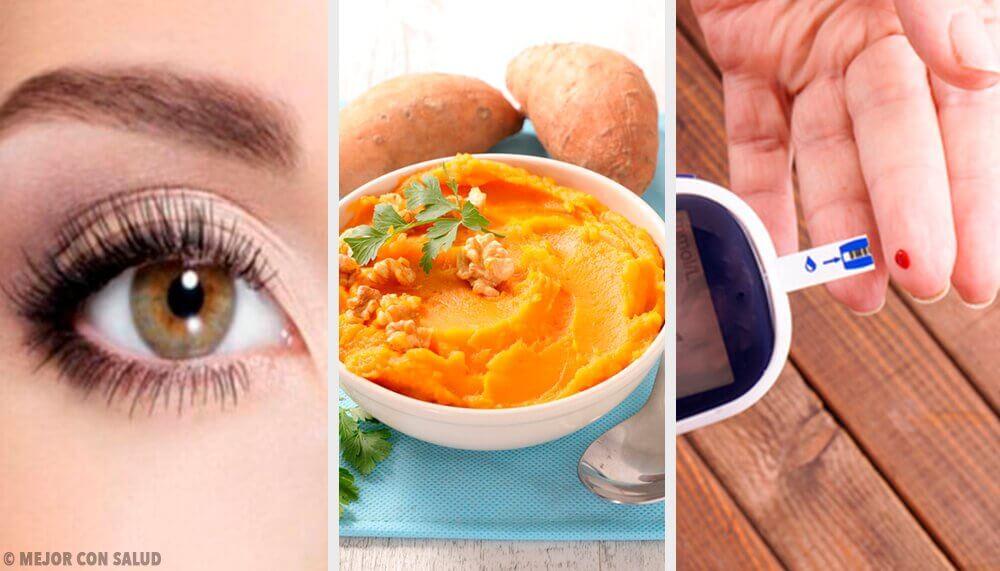 7 propriétés curatives et nutritives de la patate douce